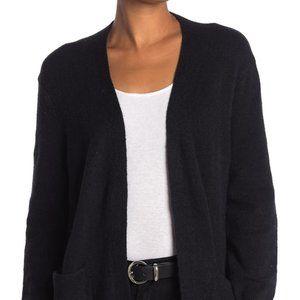"Madewell BNWT ""true black"" wool cardigan pockets"